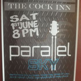 Gig this Saturday 1st June